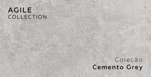 Revestimento de Parede Agile Cemento Grey - Total: 1,62m²