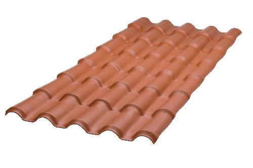 Telha Top Line Colonial 0,88 X 2,30 Cerâmica